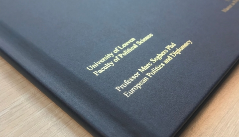 Personalise your Thermal Hard Covers with the Flat Bed Foil Printer