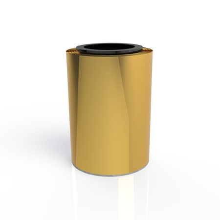 Roll of Metal Gold Foil
