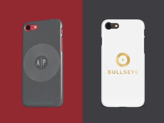 Phone cases printed with the UniFoilPrinter